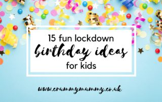 lockdown birthday ideas