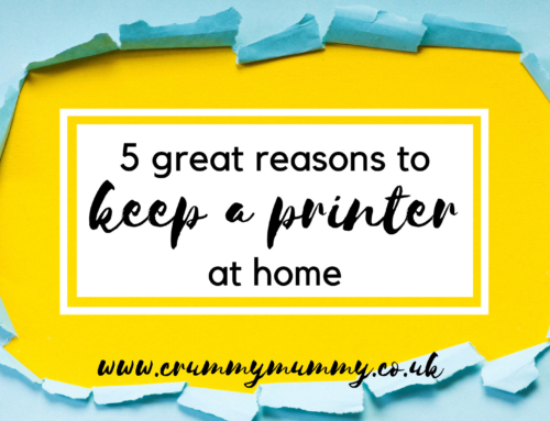 5 great reasons to keep a printer at home