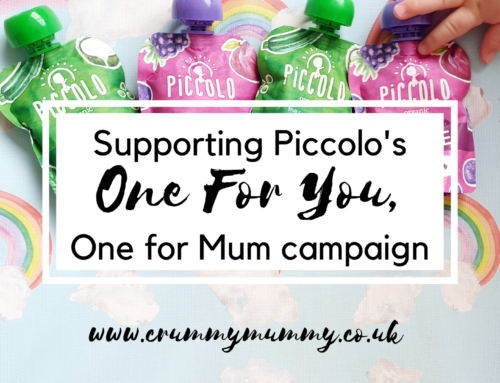 Supporting Piccolo's One For You, One For Mum campaign