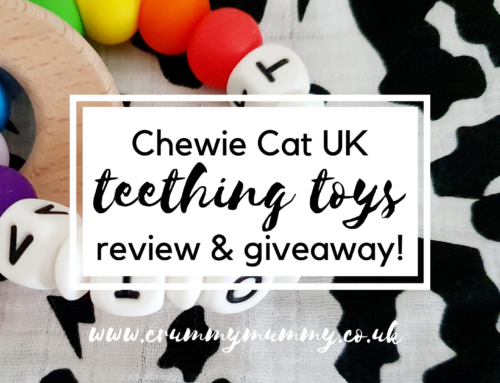 Chewie Cat UK teething toys review & giveaway!