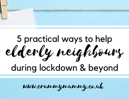 5 practical ways to help elderly neighbours during lockdown & beyond