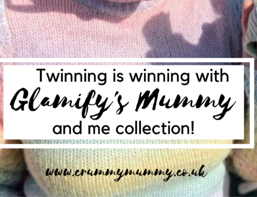 Twinning is winning with Glamify's Mummy and me collection! #ad