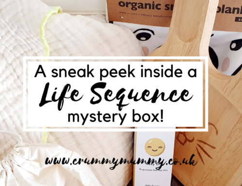 A sneak peek inside a Life Sequence mystery box!