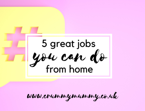 5 great jobs you can do from home