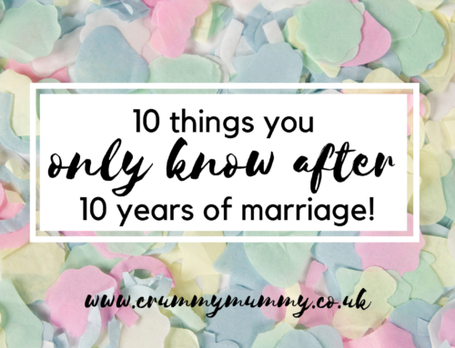10 things you only know after 10 years of marriage!