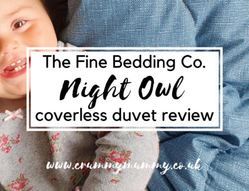 The Fine Bedding Co. Night Owl coverless duvet review