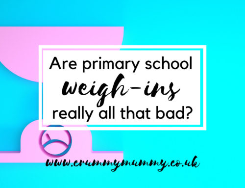 Are primary school weigh-ins really all that bad?