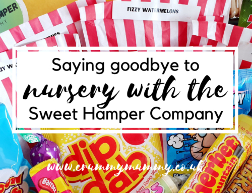 Saying goodbye to nursery with the Sweet Hamper Company