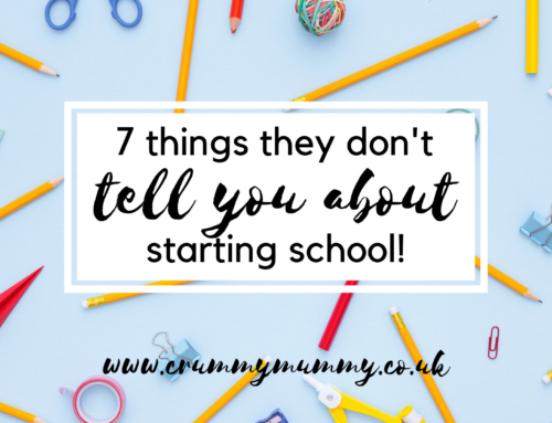 7 things they don't tell you about starting school!